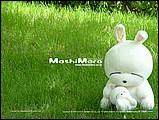 韓國卡通mashimaro流氓兔子形象桌布8 - ml0007.jpg