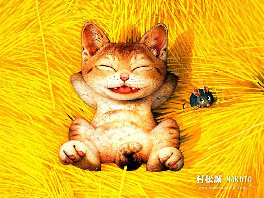 村松誠插畫桌布 Japanese Cartoons Wallpapers...  日本卡通桌布-